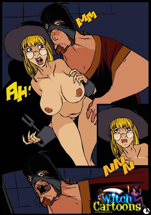 Witch anal porn